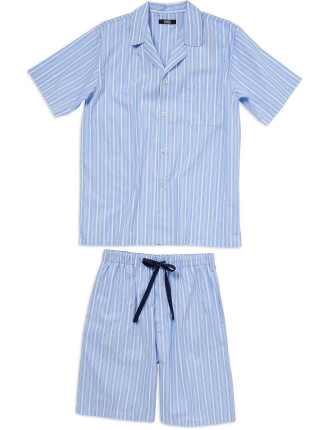Woven Top And Short Set