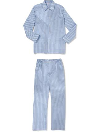 Bahia 2 Blue Men'S Ew Pyjama Set