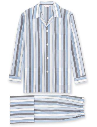 Amalfi 8 Blue Men'S Ew Pyjama Set