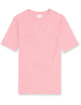 Ethan 1 Coral Men'S S/S R/N T-Shirt