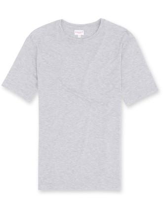 Ethan 1 Silver Men'S S/S R/N T-Shirt