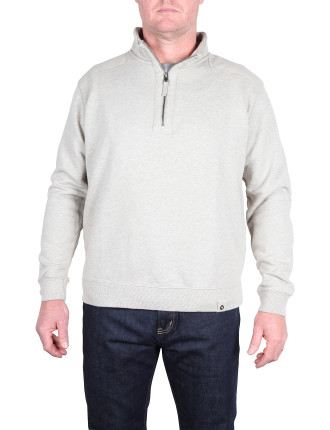 Sassafras Half Zip Sweat