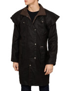 Oilskin Short Coat $219.00