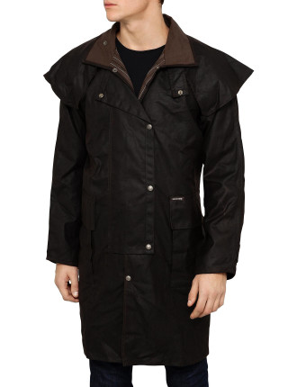 Oilskin Short Coat