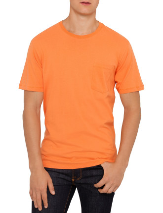 Solid Tee With Pocket