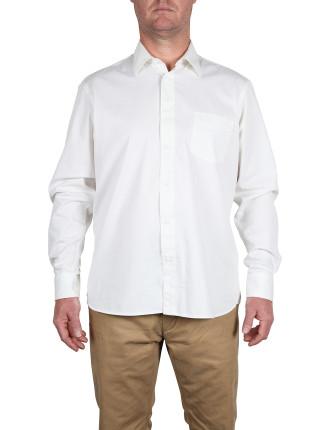 Long Sleeve Stony Single Pocket Work Shirt