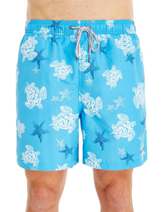 Sea Turtle Swim Trunk