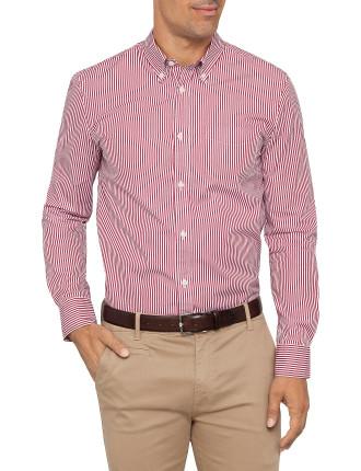 Long Sleeve Shirt Bankers Stripe