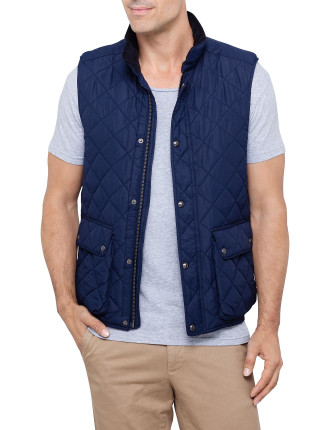 Quilted Gillet