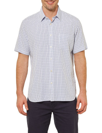 Short Sleeve Brayden Check Shirt