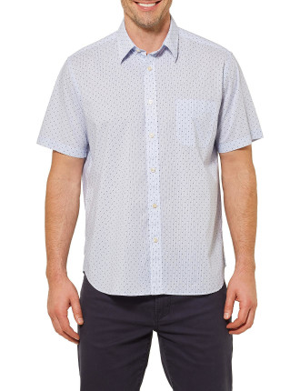 Short Sleeve Alex Printed Shirt