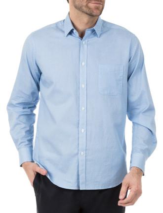 Jackson Long Sleeve Printed Shirt
