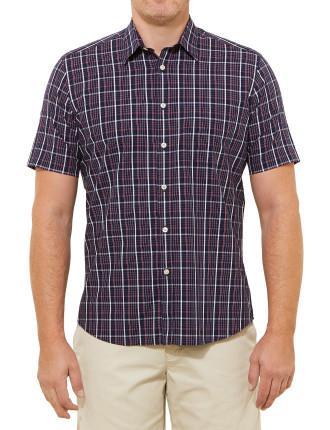 Short Sleeve Jerry Check Shirt