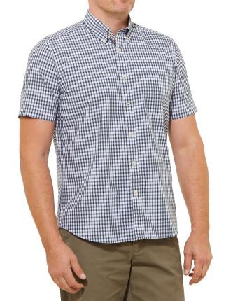 Short Sleeve Craig Check Shirt