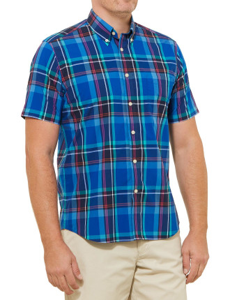 Short Sleeve Carl Check Shirt
