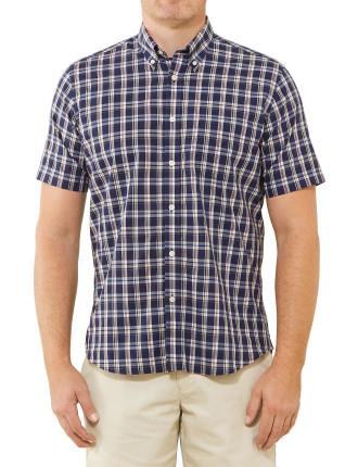 Short Sleeve Danny Check Shirt
