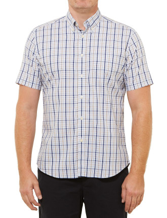 Short Sleeve Chris Check Shirt