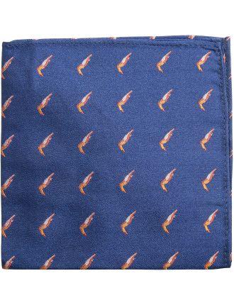 Toucan Print Pocket Square