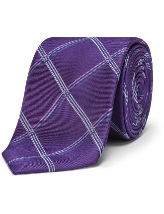Simple Check Tie