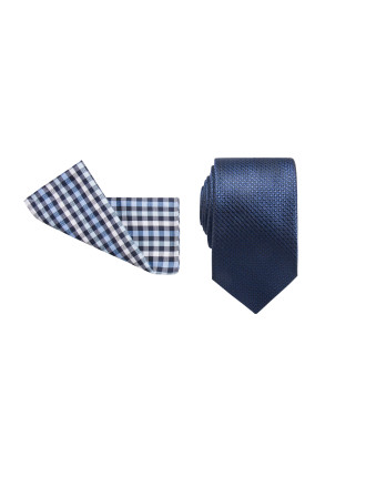 Tie & Pocket Square Set