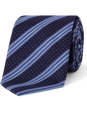 Spot Stripe Tie