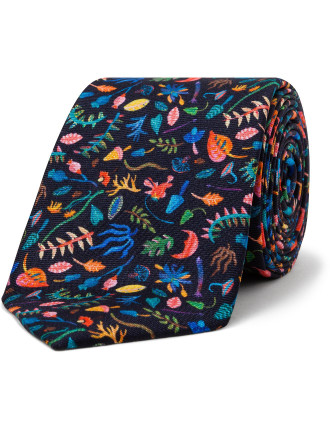 Jungle Print Tie
