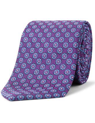 2 Colour Floral Tie