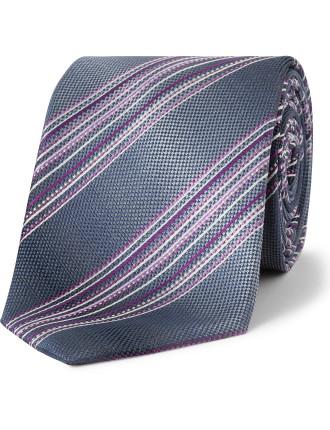 Multi Coloured Stripe Tie