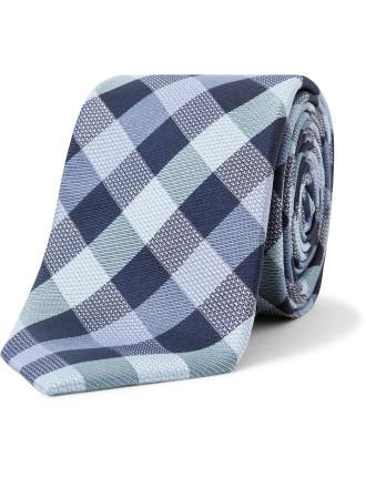 Neat Check Tie