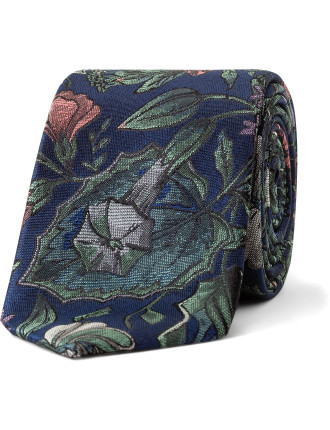 FOREST FLORAL TIE