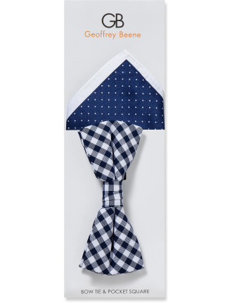 Bowtie & Pocket Square Set
