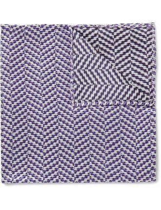 Chevron Stripe Pocket Square