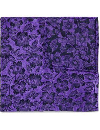 Ardent Floral Pocket Square