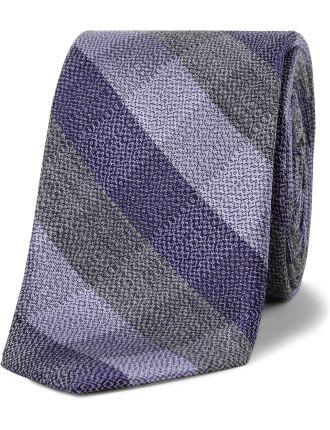 Pebble Check Tie