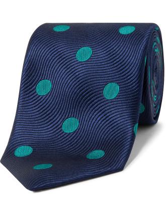 Textured Spot Design Tie
