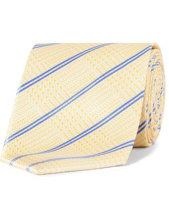 Plaid Check Tie