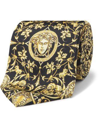 Medusa Print Tie