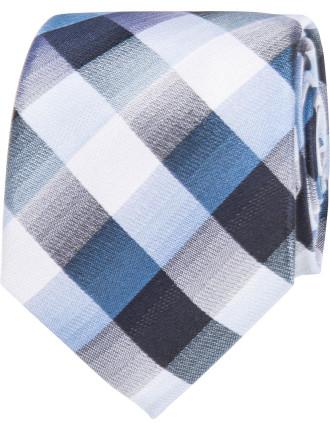 Bold Check Tie