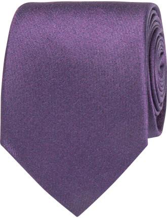 Textured Plain Tie