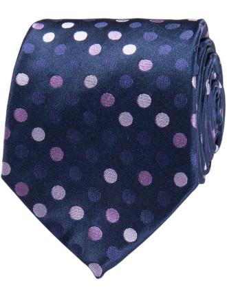 Multi Coloured Spot Tie