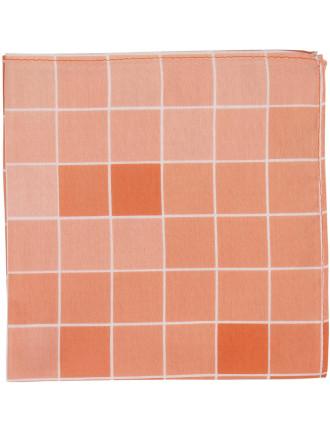 Square Geometric Pocket Square