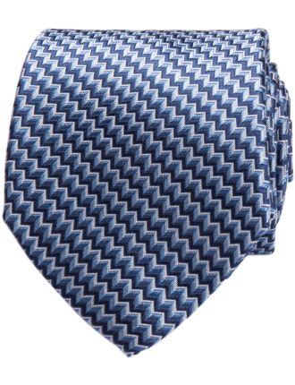 Zig Zag Geometric Tie