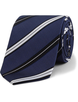 Pindot Stripe Tie