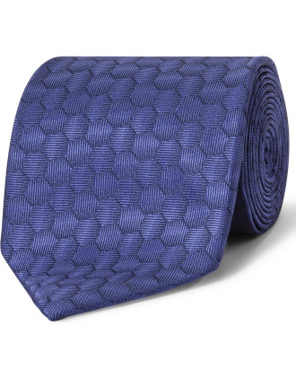 Hexagonal Geometric Tie