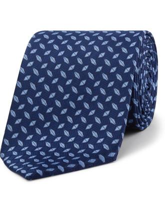 Textured Geometric Tie