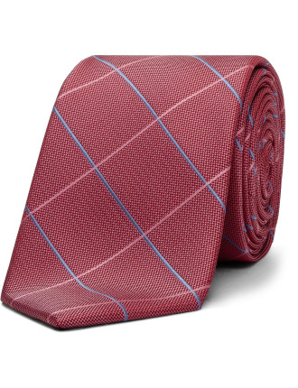 Large Scale Check Tie