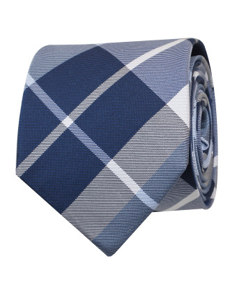 Large Check Tie