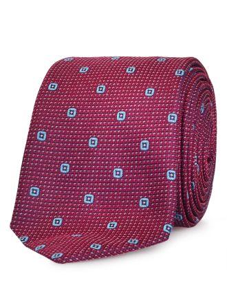 Square Geometric Design Tie