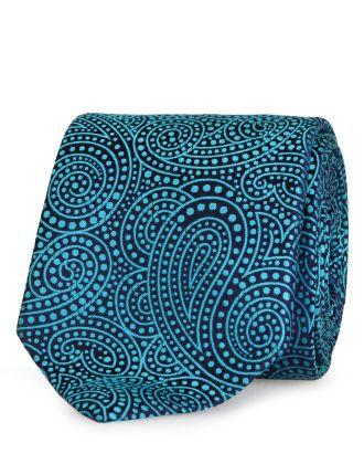 Paisley Geometric Tie