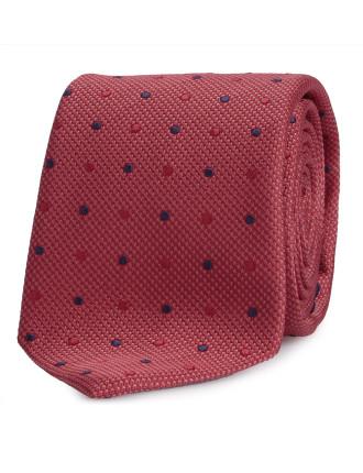 2 Colour Spot Tie